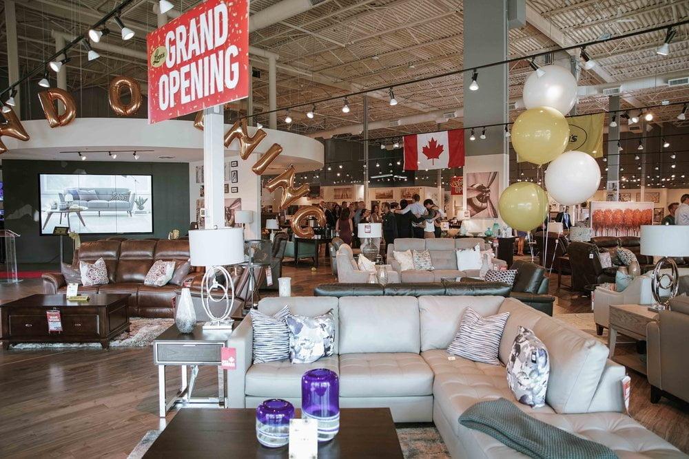 Canadian Furniture Retailer Leon S Unveils Innovative Tech Heavy Concept Store Photos