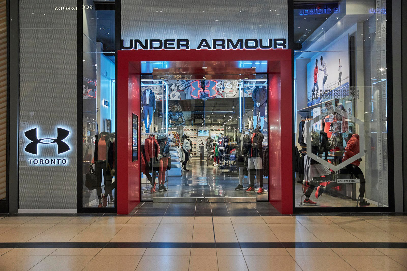 Hormiga carrera mayoria  Sportswear Brand 'Under Armour' Launches Canadian Store Expansion with 1st  Location [Photos] - Retail Insider