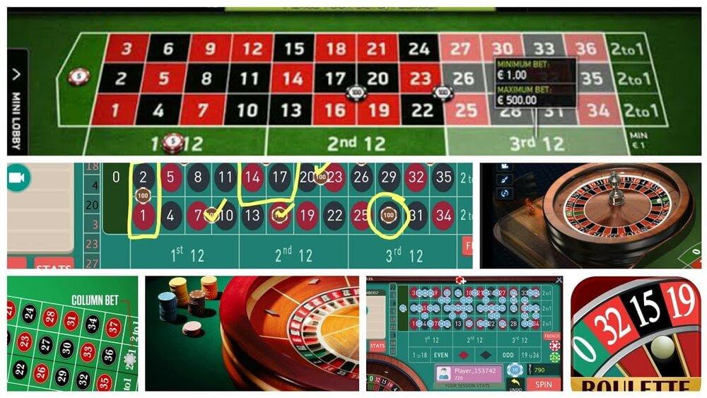 Roulette inside odds against