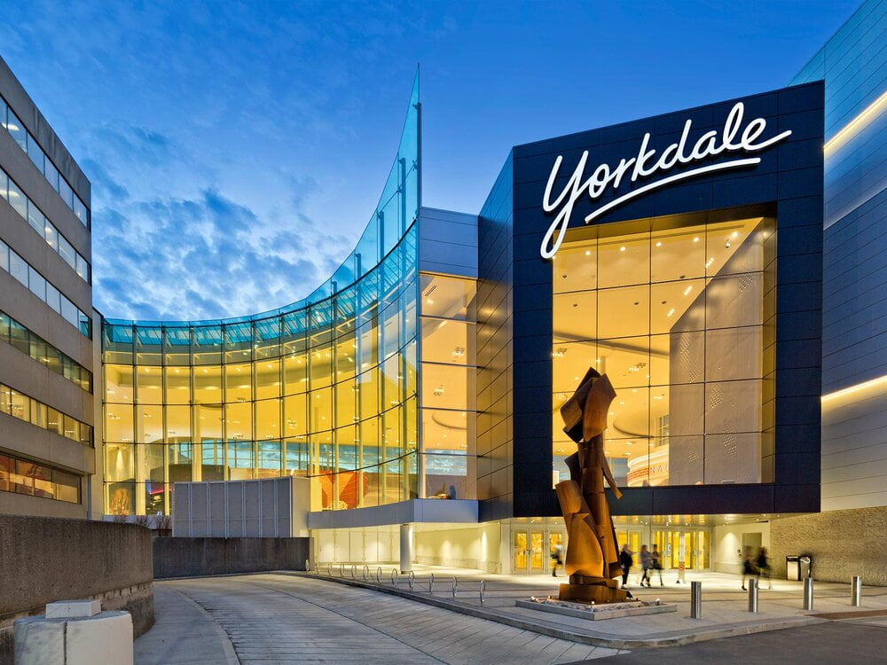 EXTERIOR OF YORKDALE SHOPPING CENTRE