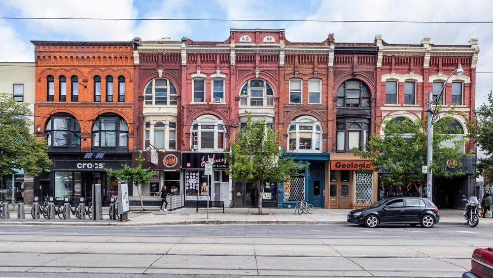 Queen Street West retail stores