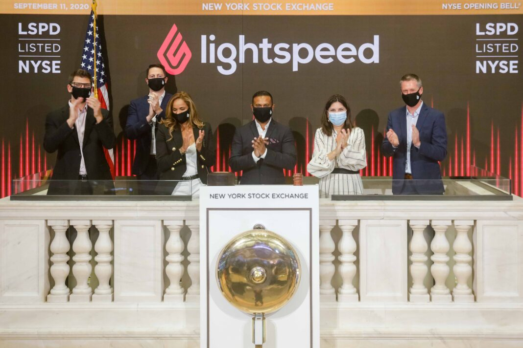 LIGHTSPEED NYSE, SEPTEMBER 11, 2020.