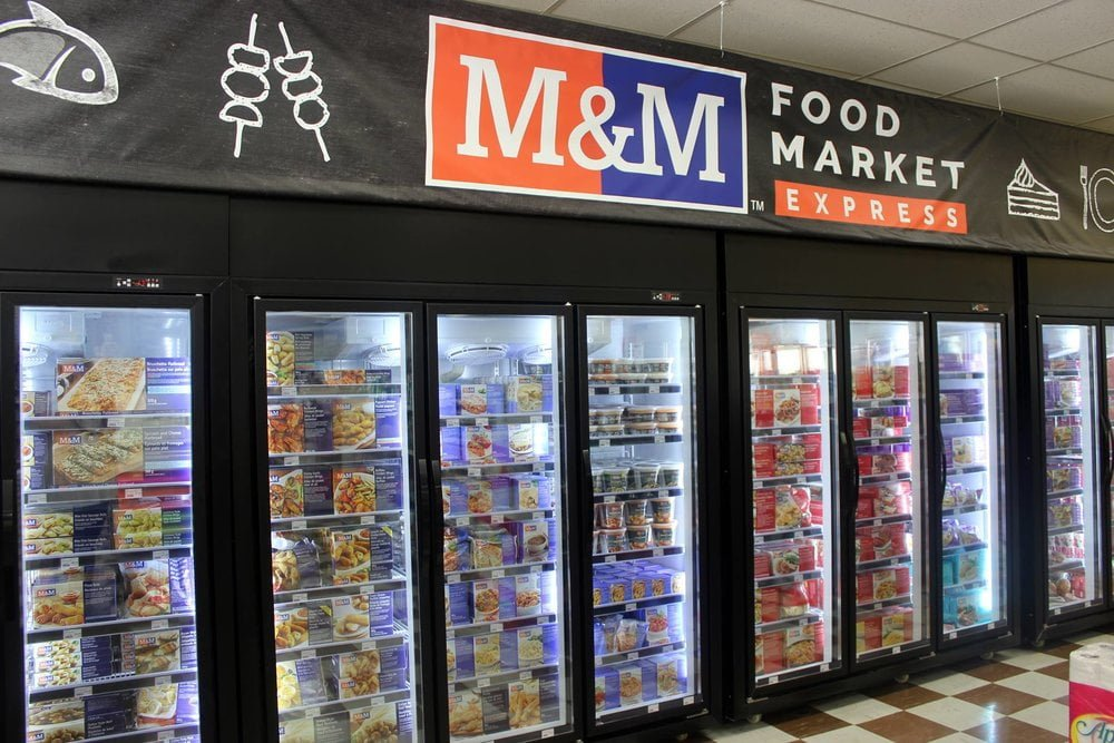 M&M offerings in Rexall Pharmacy in Avondale Mall. Photo: Rexall/M&M