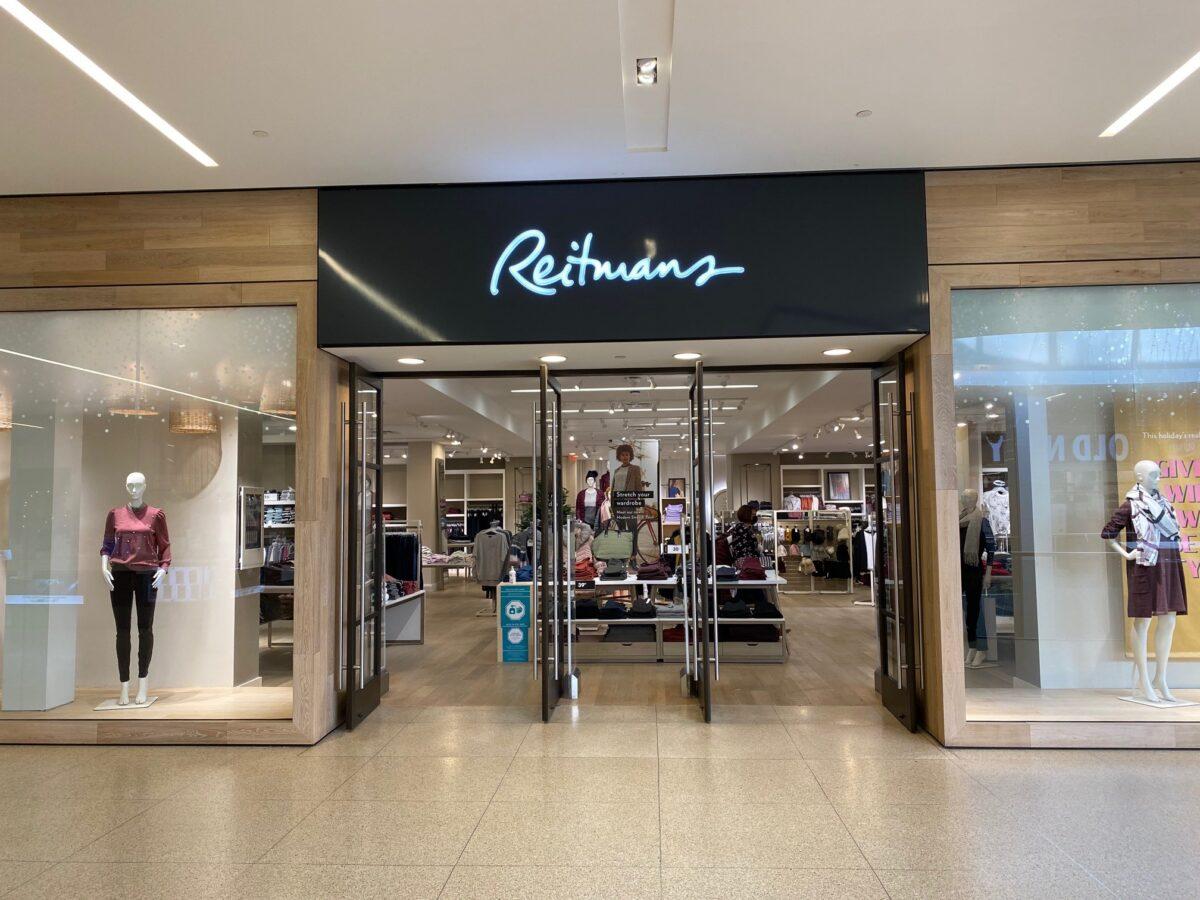 Exterior of Reitmans at West Edmonton Mall. Photo: Reitmans