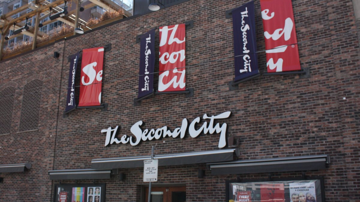 Entrance to The Second City on Mercer Street, Toronto. Photo: Dustin Fuhs
