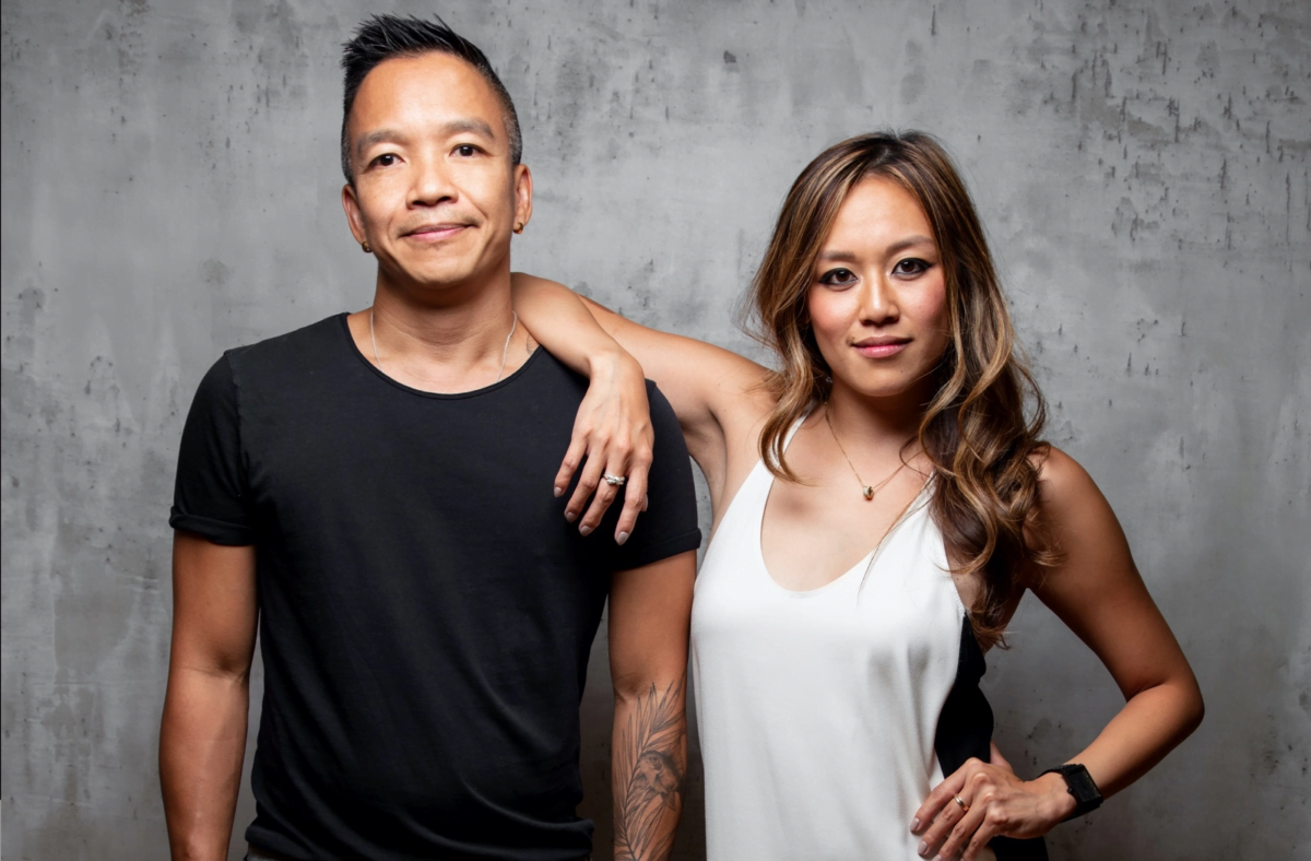VIEREN founders Sunny Fong and Jessica Chow