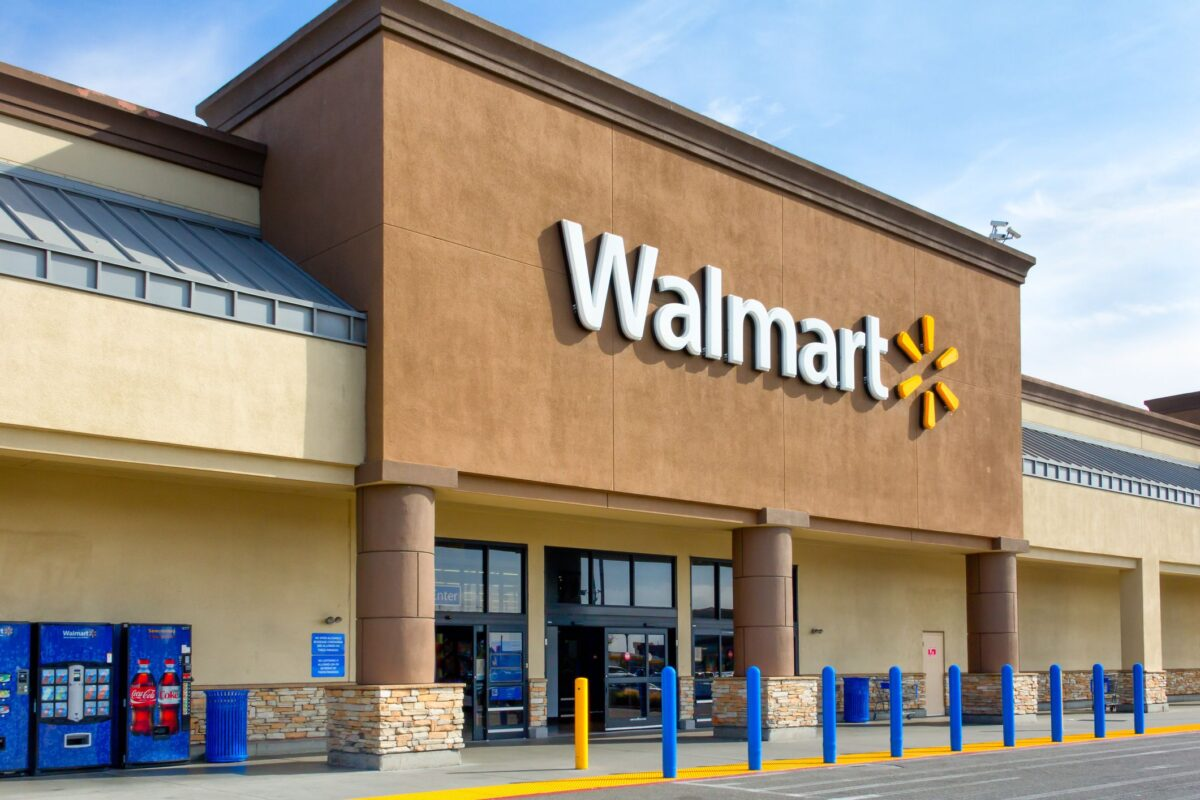 Exterior of Walmart Store. Photo: Walmart