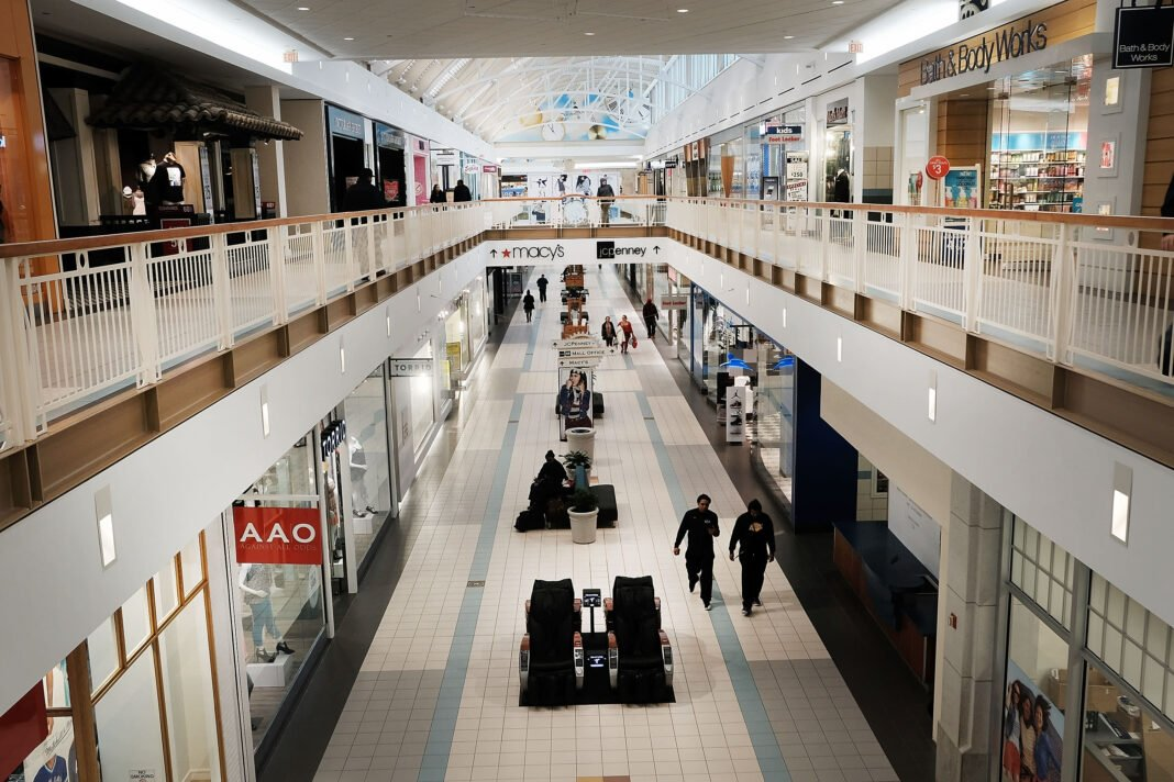 Canadian mall interior. Photo: Google