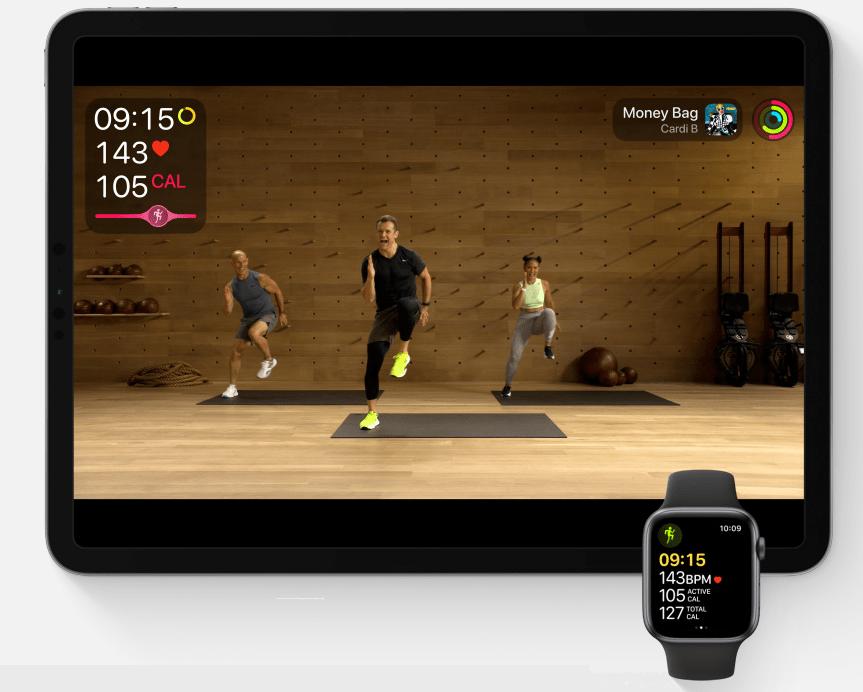Apple Fitness+ Suite. Photo: Apple