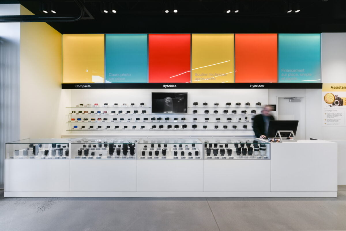 Interior of new Gosselin store. Photo: Gosselin