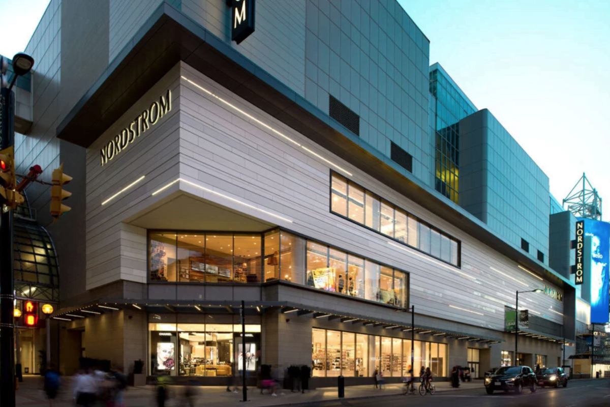Nordstrom at CF Toronto Eaton Centre - Photo by Dri-Design