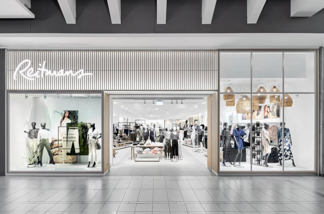 Reitmans' New CF Carrefour Laval boutique. Photo: Reitmans