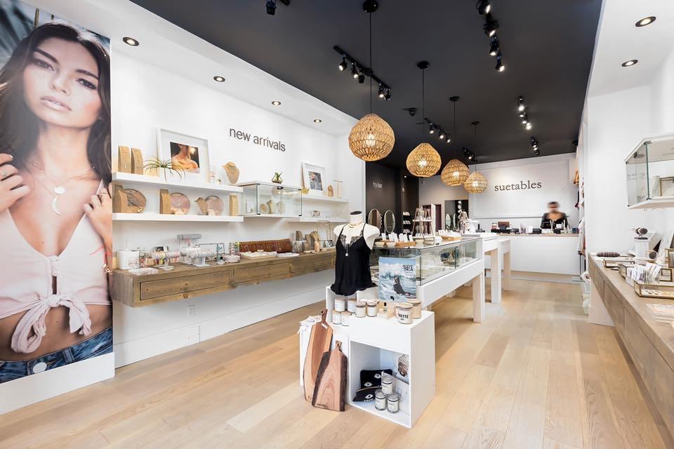 Interior of Suetables store. Photo: Suetables
