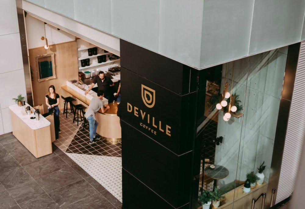 Deville Coffee shop. Photo: Deville Coffee