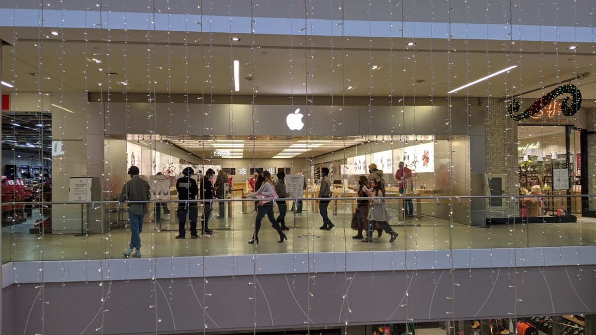 Apple Store at West Edmonton Mall