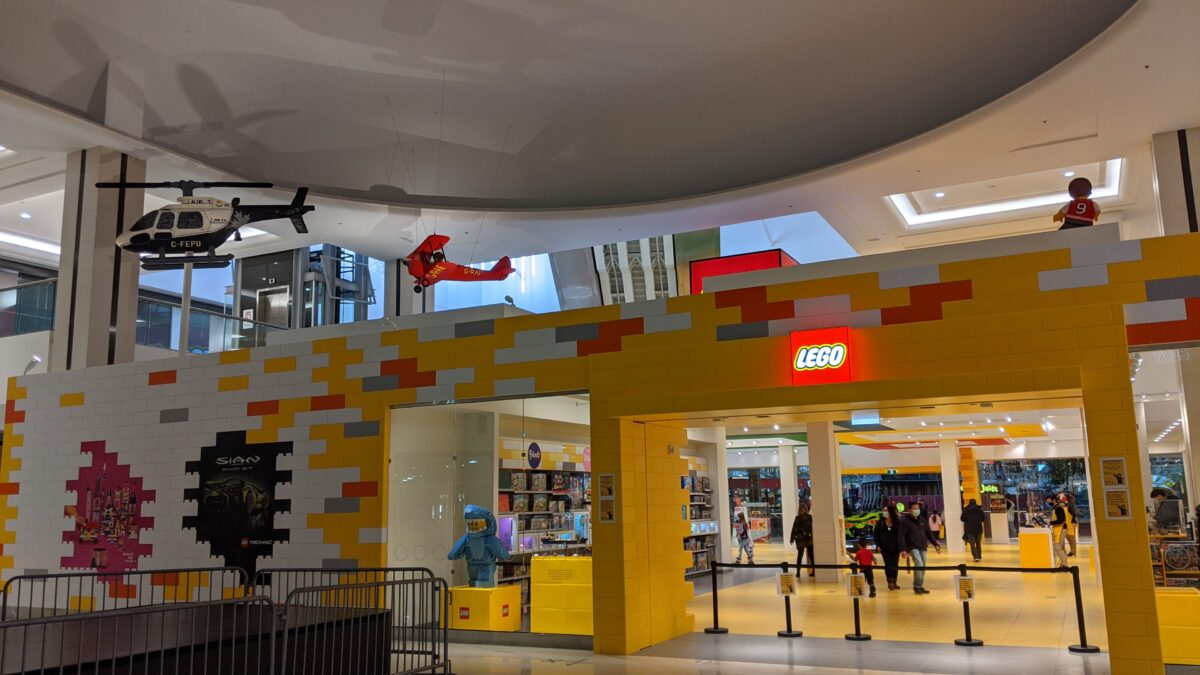 Lego Store at West Edmonton Mall
