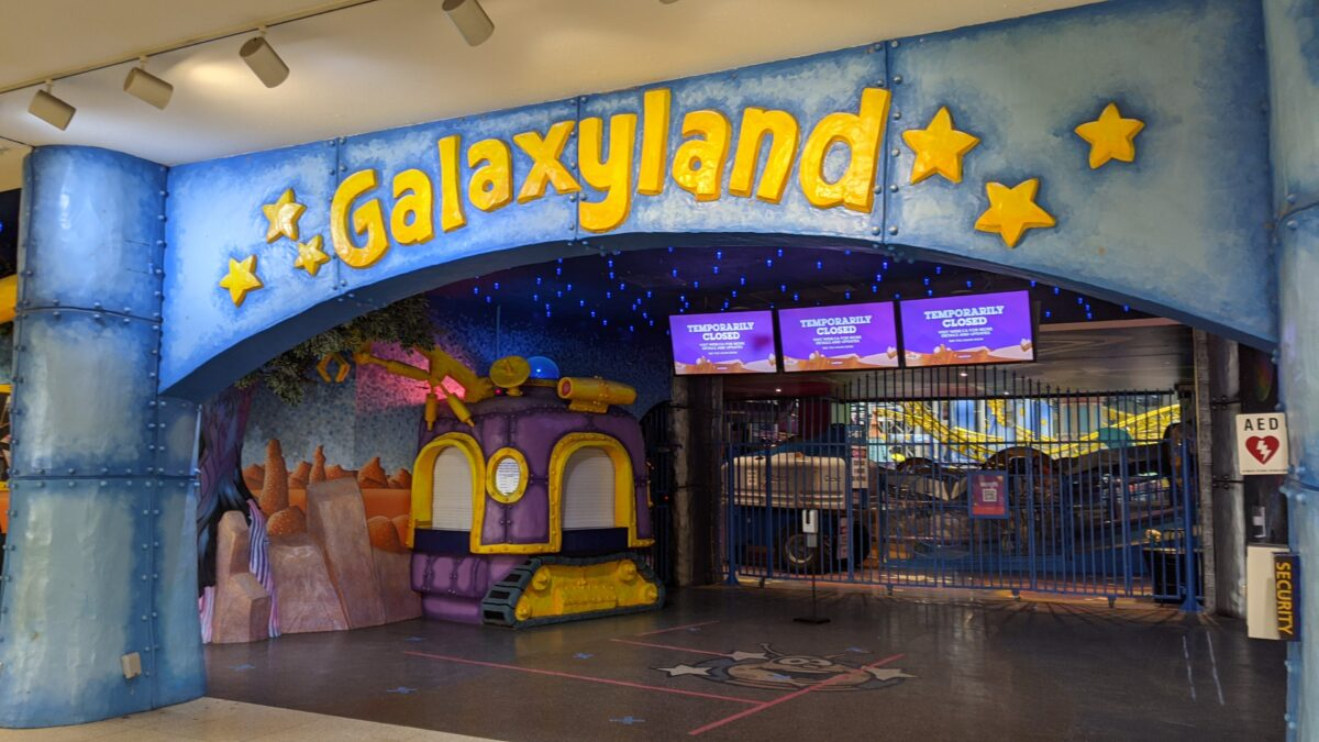 Galaxyland Entrance at West Edmonton Mall