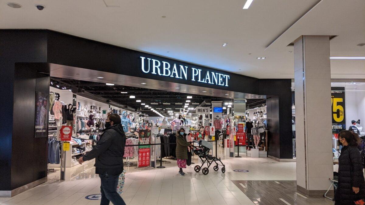 Urban Planet at West Edmonton Mall