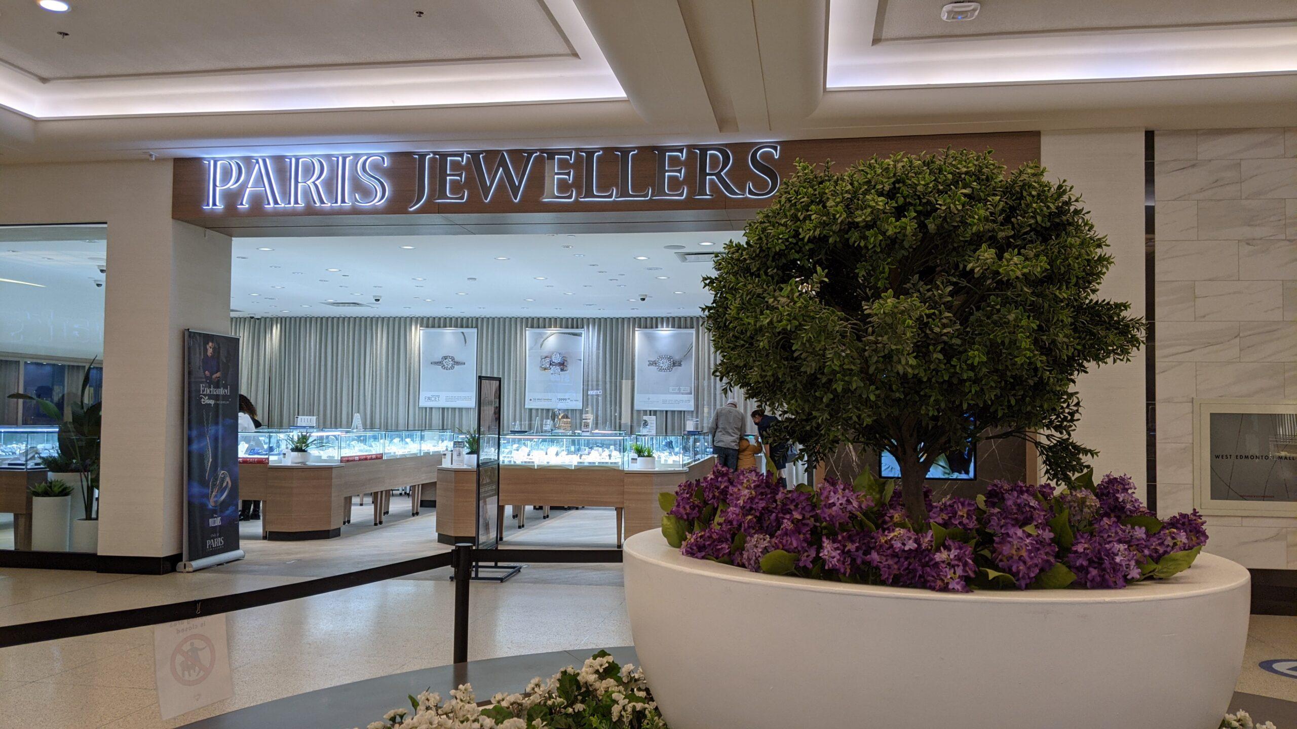 Paris Jewellers at West Edmonton Mall