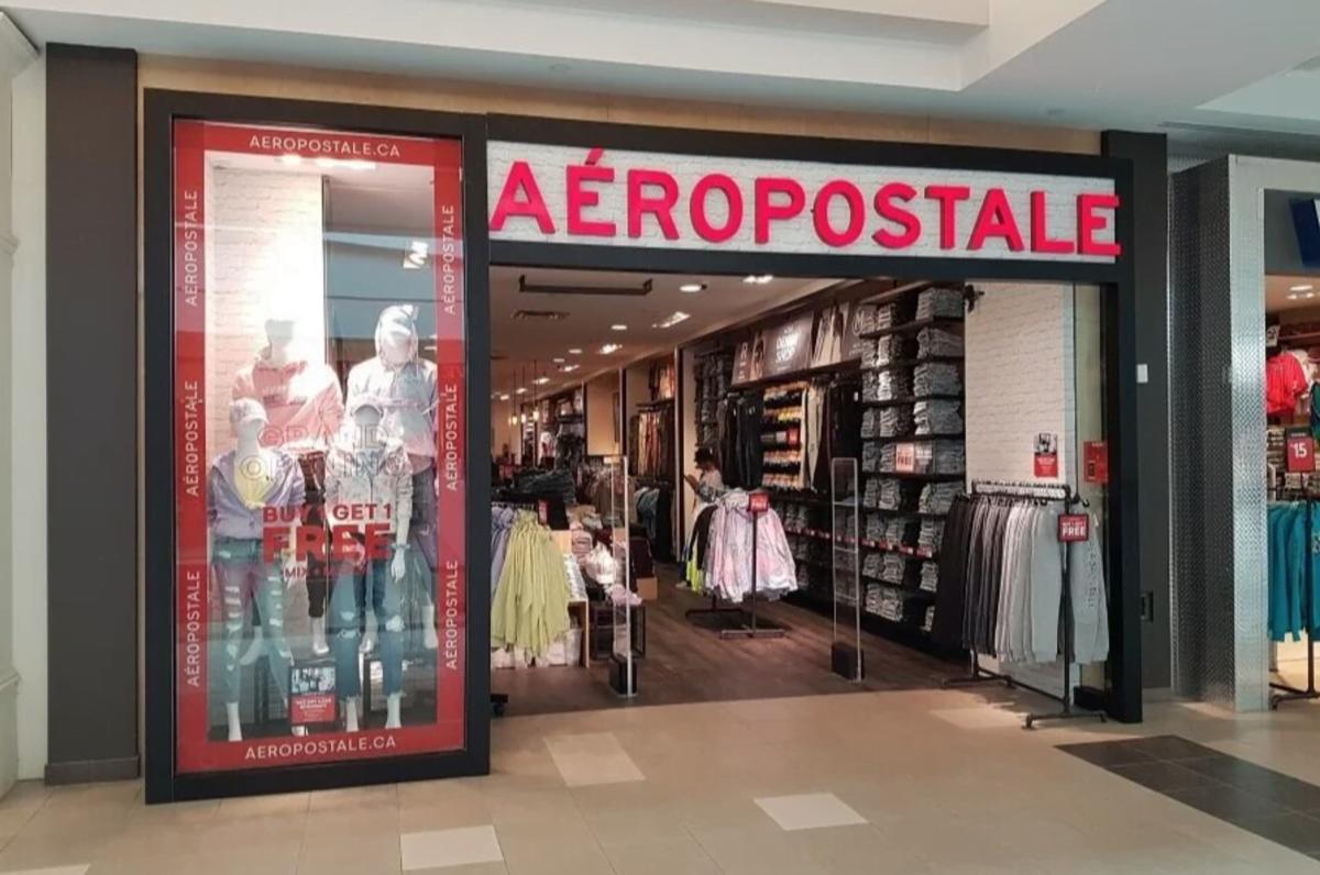 Exterior of Aeropostale store