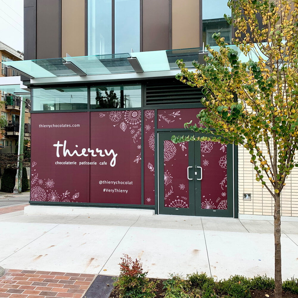 Exterior of new Thierry store in Mount Pleasant, Vancouver. Photo: Thierry Facebook