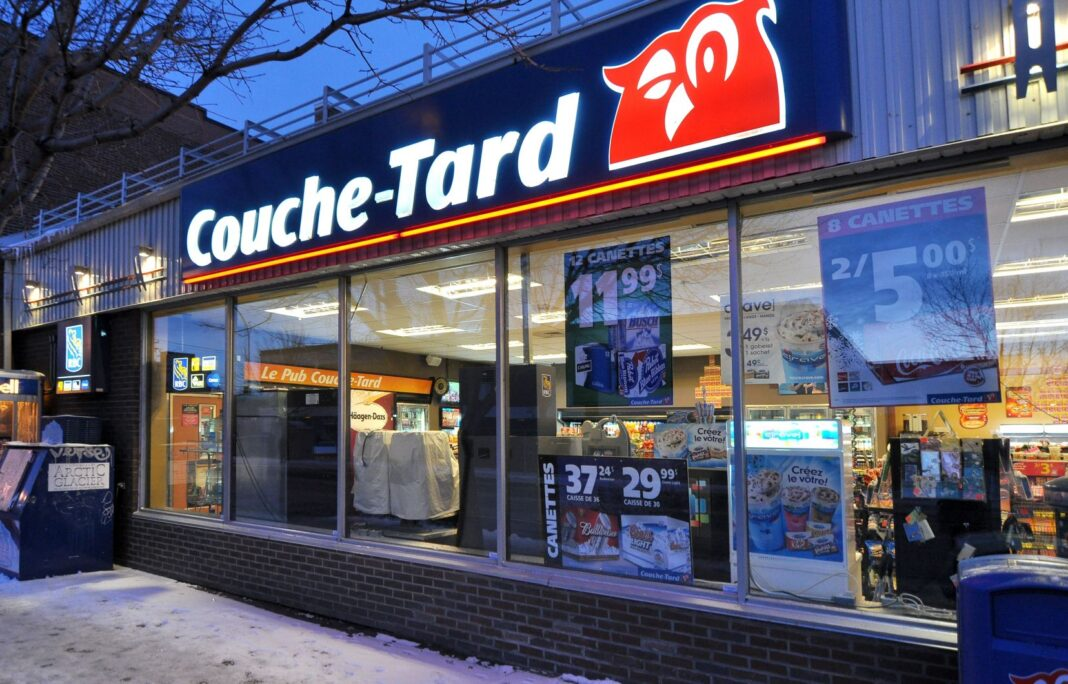 Exterior of Couche-Tard store. Photo: Couche-Tard