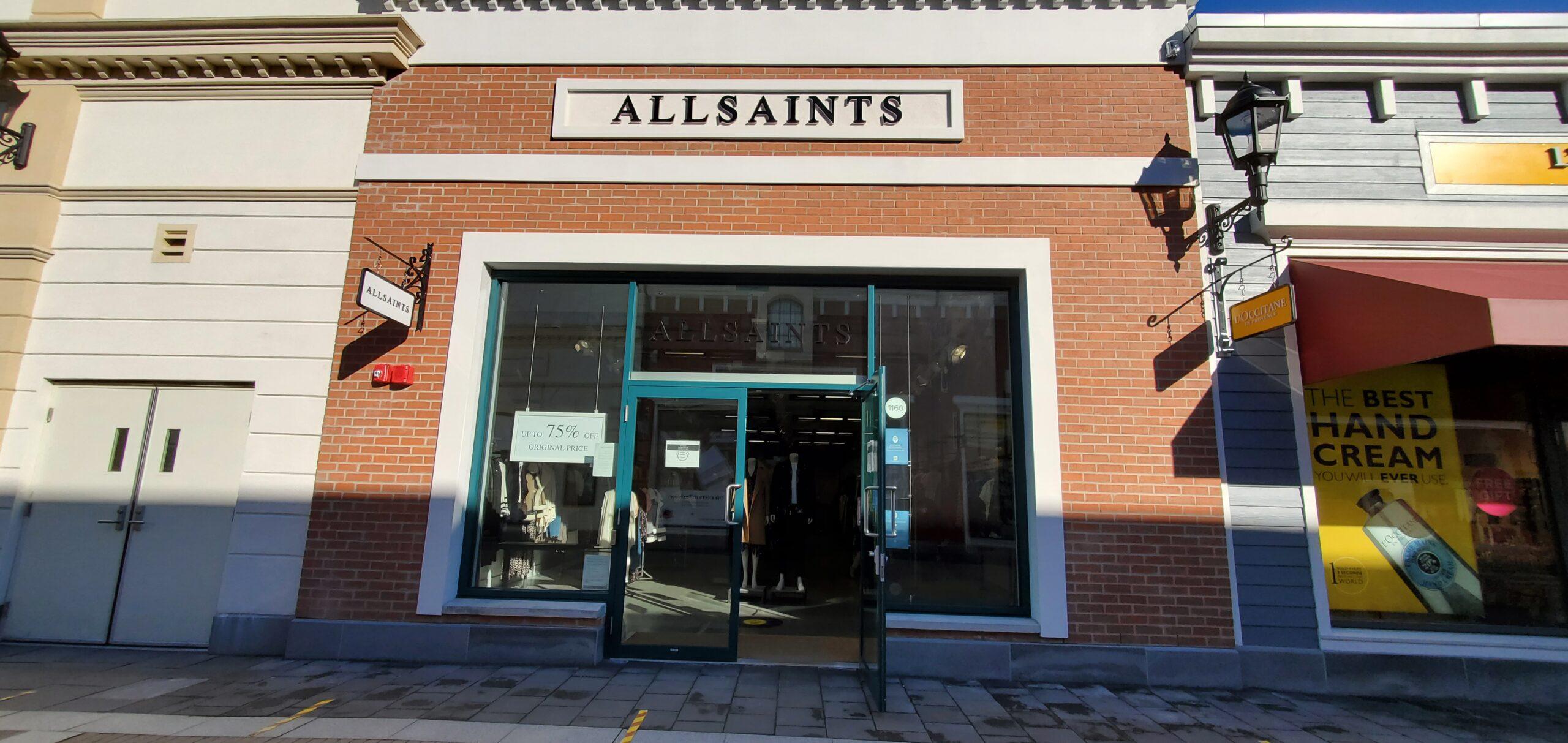 AllSaints at McArthur Glen