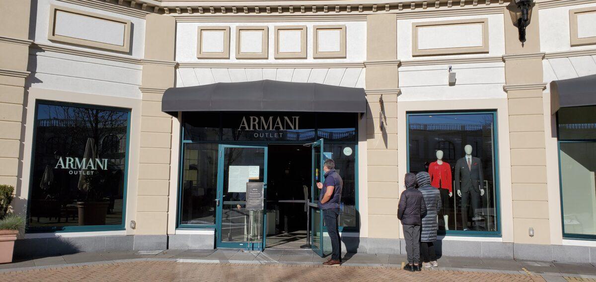 Armani Outlet at McArthur Glen
