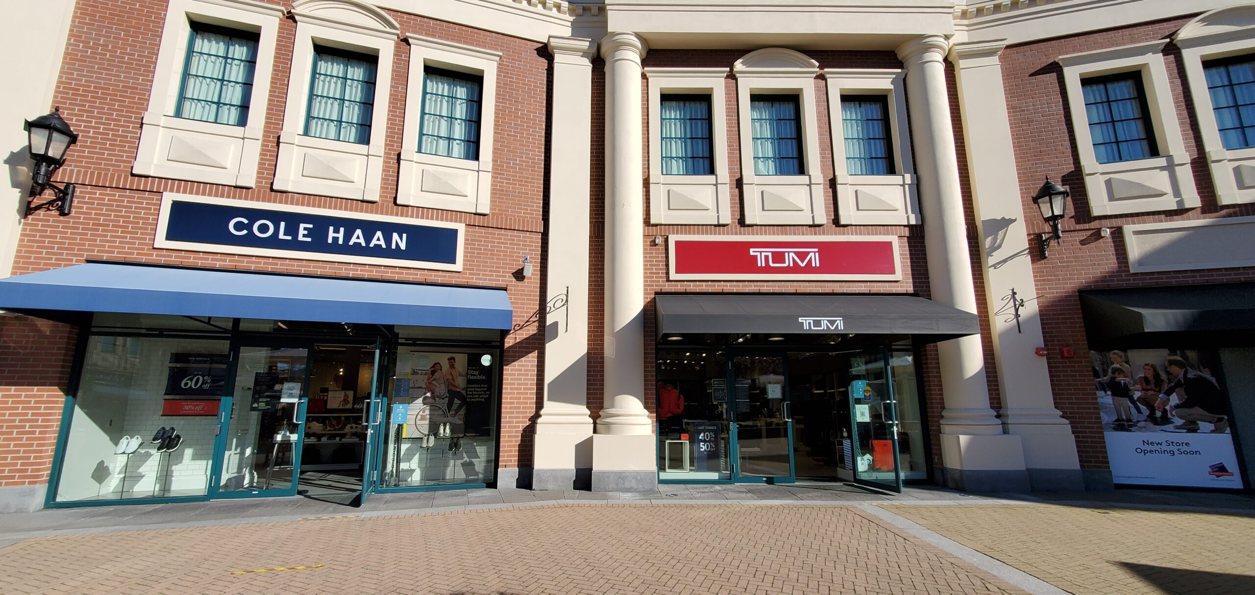 Cole Haan and TUMI at McArthur Glen Vancouver