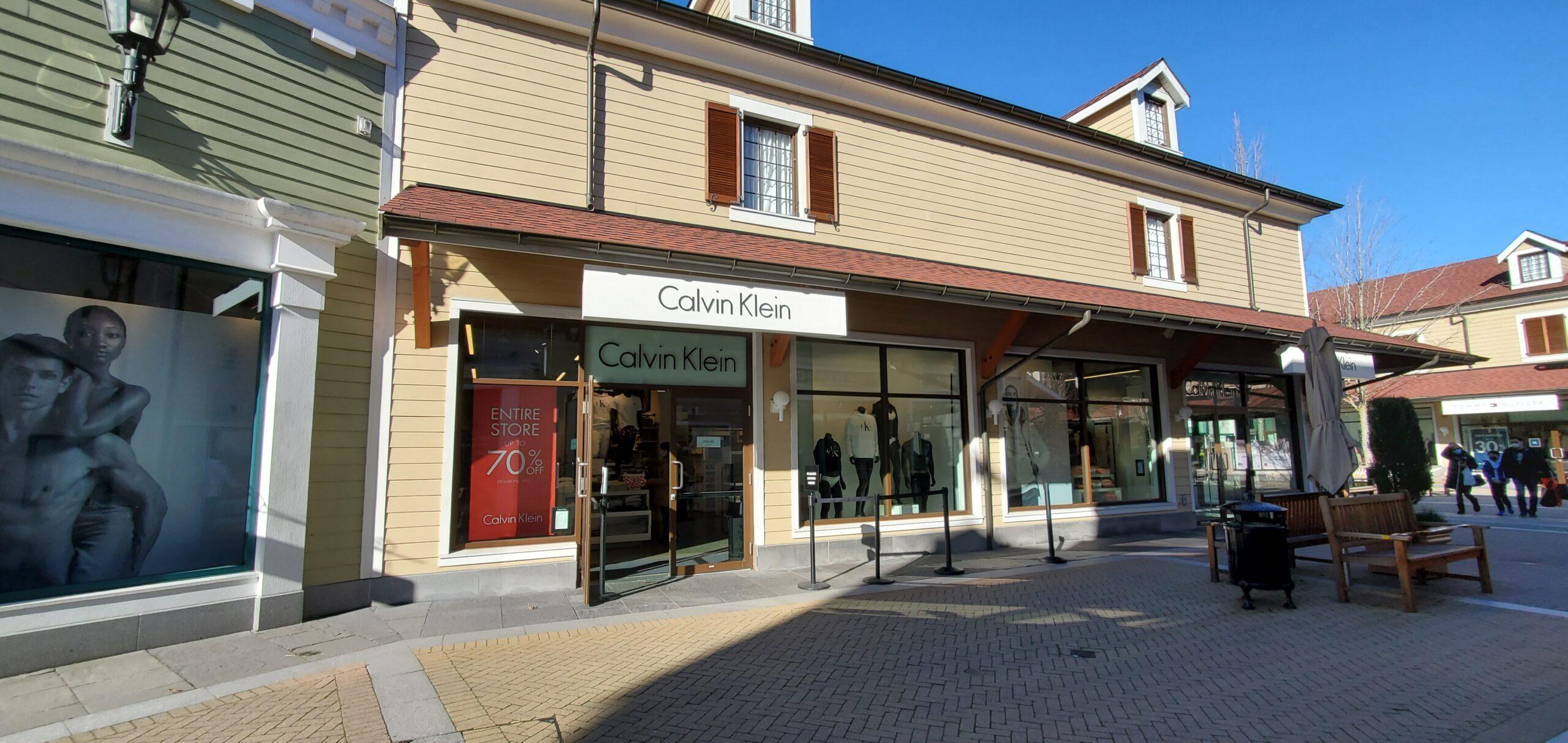 Calvin Klein at McArthur Glen Vancouver.