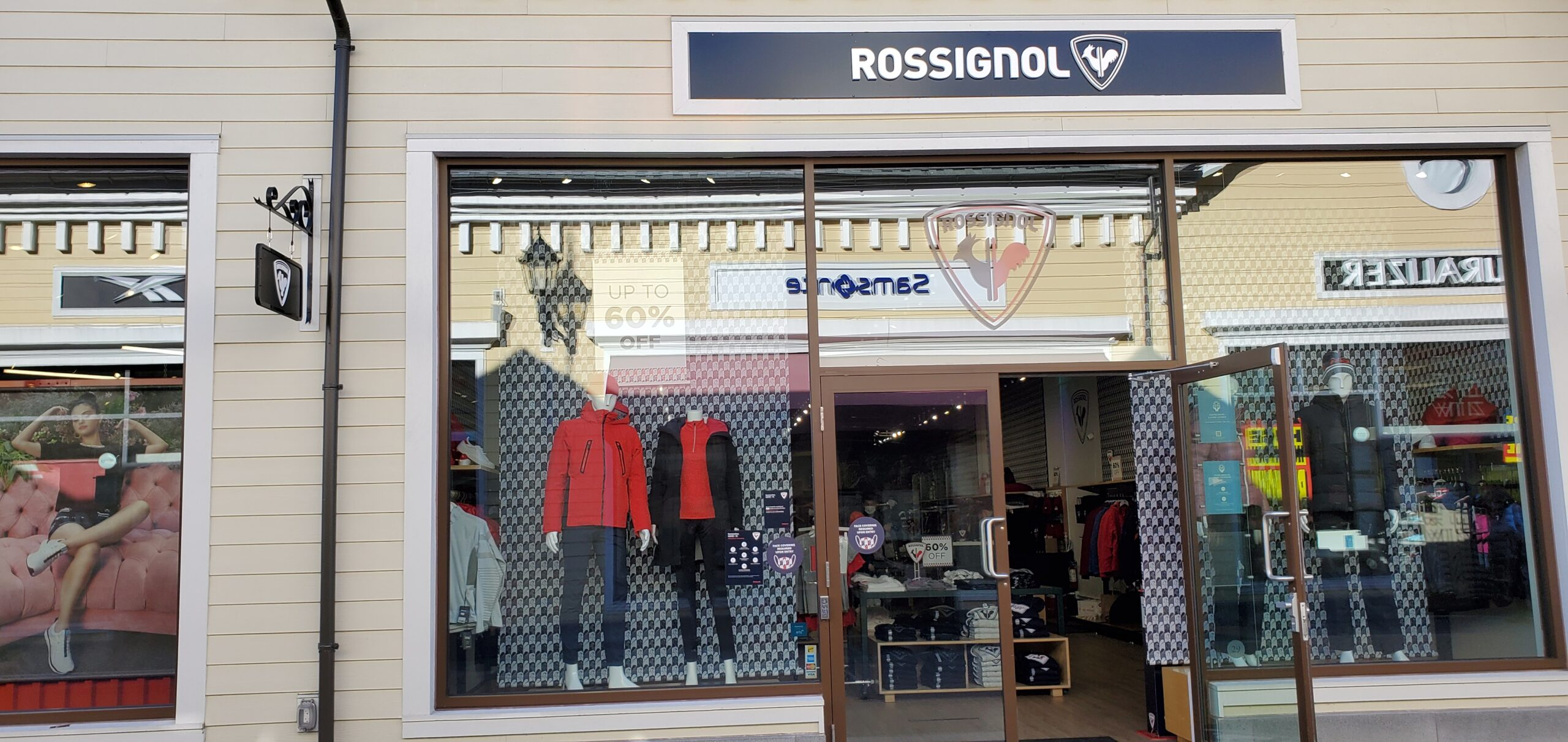 Rossignol at McArthur Glen Vancouver