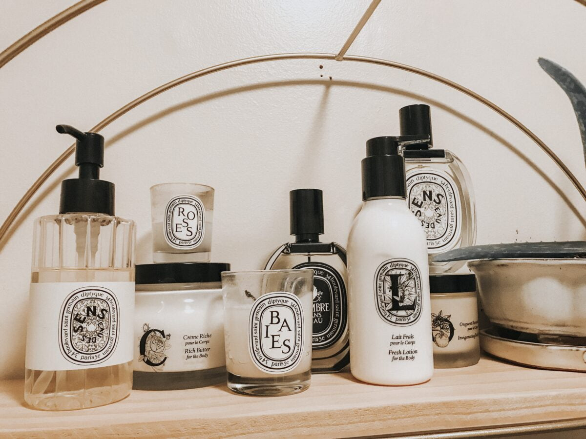 Diptyque products. Photo: Diptyque