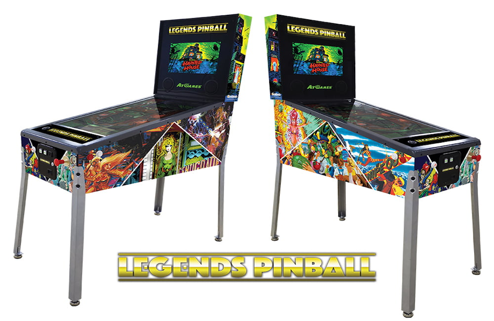 Legends Pinball machine. Image: AtGames