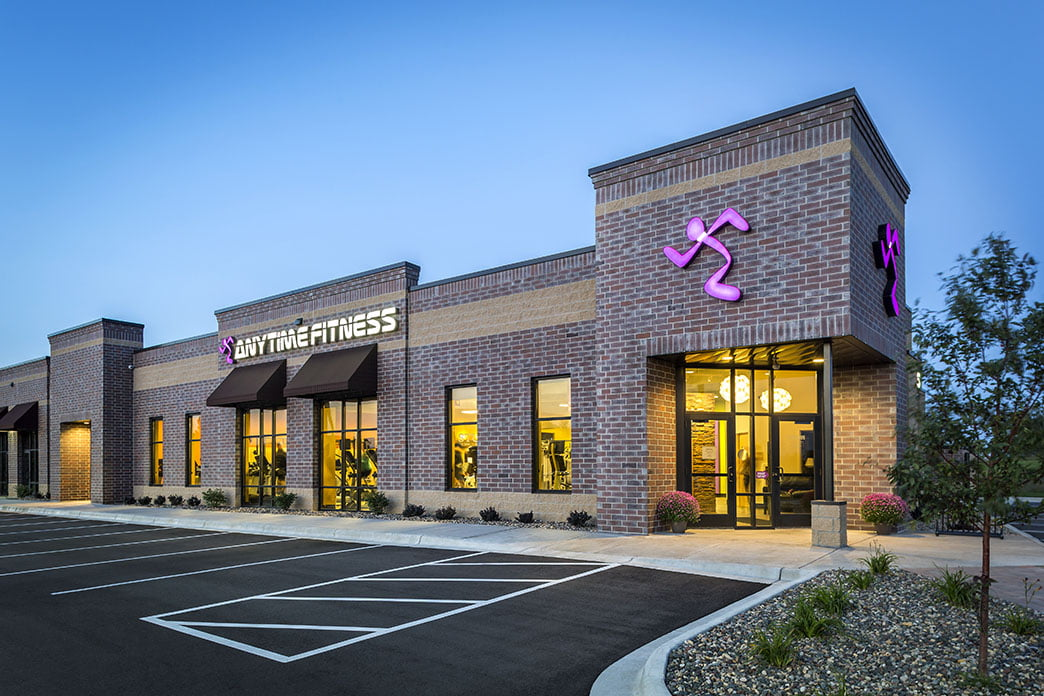 Exterior of Anytime Fitness location. Photo: Anytime Fitness