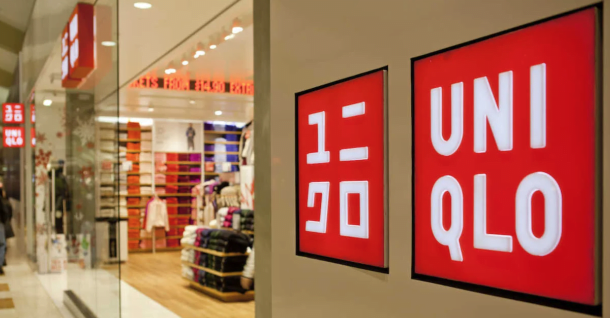 Exterior of Uniqlo store. Photo: Uniqlo